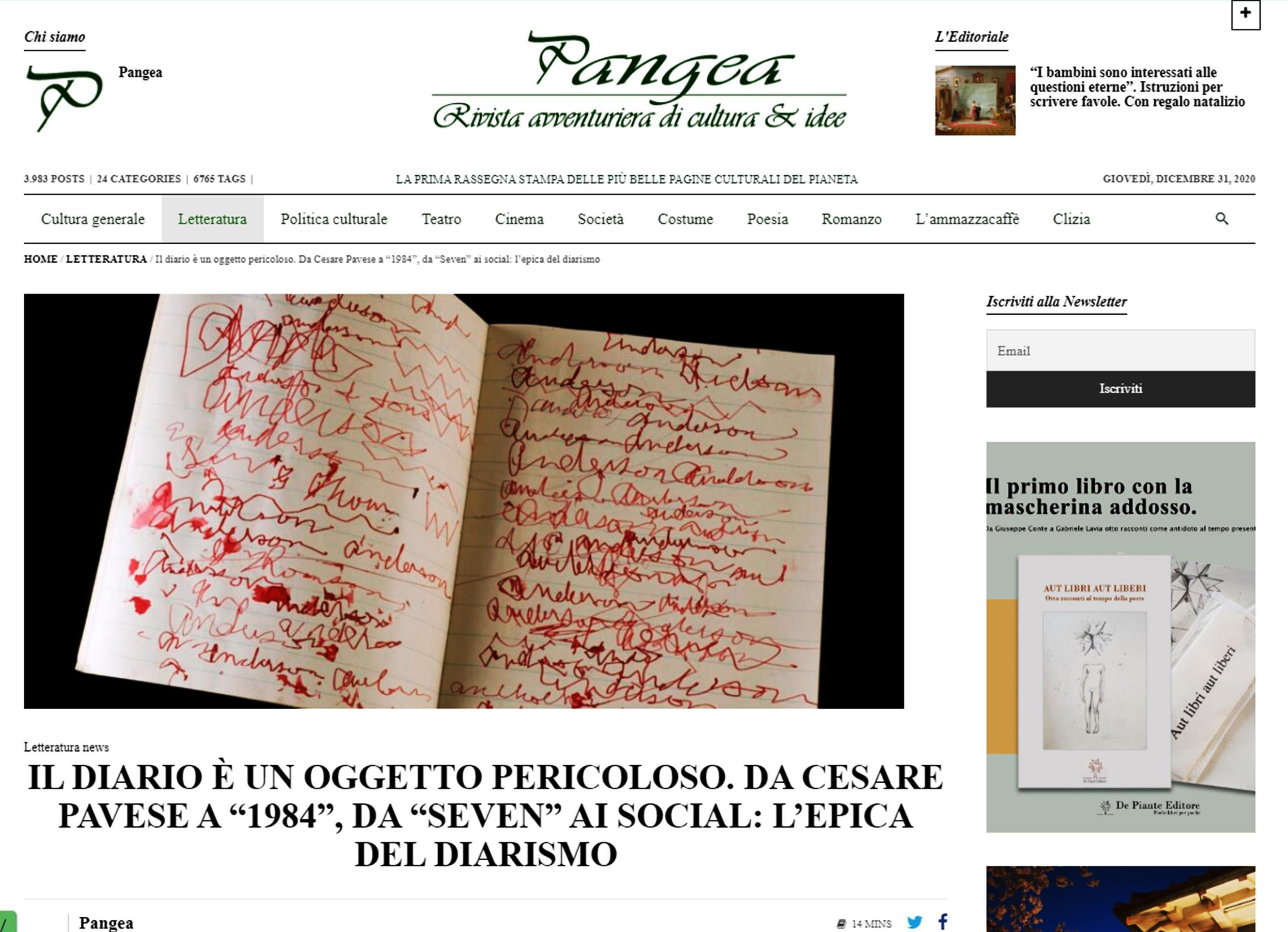 diarismi pangea